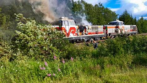 Palon alkuperä ei ollut vielä tiistaipäivänä Pohjois-Savon päivystävän palomestarin tiedossa.