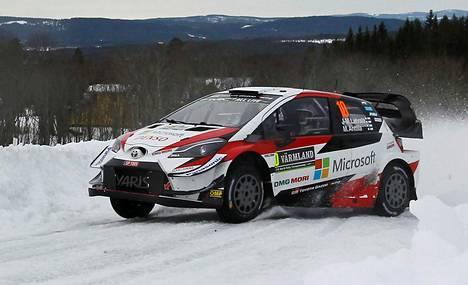 Jari-Matti Latvala ajoi viime vuonna Ruotsin MM-rallissa.