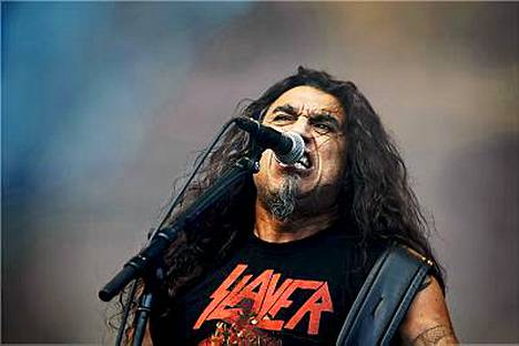 Kolmipäiväinen Tuska päättyi Tom Arayan luotsaamaan Slayeriin.
