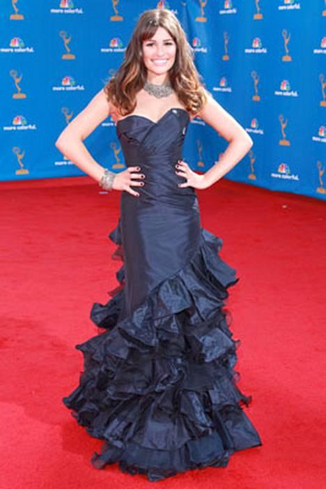 4. Lea Michele sijoittui neljänneksi.