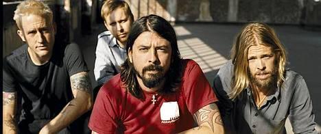 Foo Fighters esiintyy Helsingissä kesäkuussa.