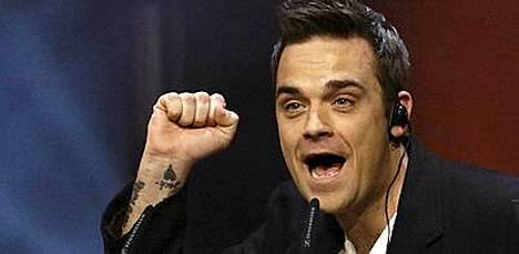 Robbie Williams kuvailee marihuanaa ihanaksi huumeeksi, mutta hän ei pysty käyttämään sitä.