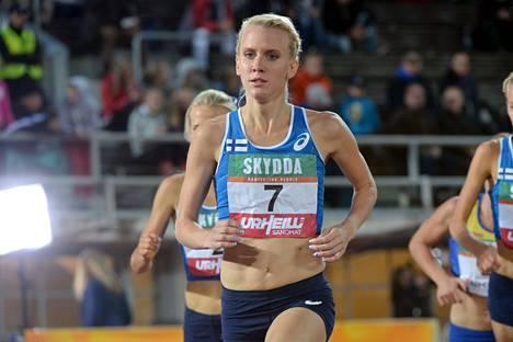 Sandra Eriksson juoksi uuden Suomen ennätyksen.