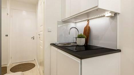 Seitsemän neliömetrin koti myytiin 100000 eurolla.