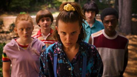 Stranger Things on Netflixin katsotuin tv-sarja.