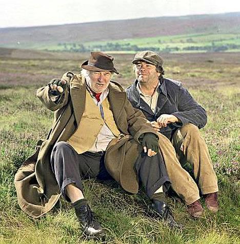 Claude Greengrass (Bill Maynard) ja David Stockwell (David Lonsdale) olivat IS:n Sydämen asialla -äänestyksen ylivoimainen kärkikaksikko.