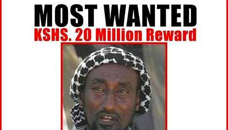 Mohamed Mohamudista on luvattu 200 000 euron palkkio.