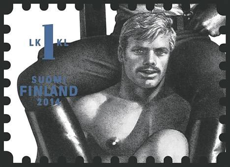 Homoikoni Tom of Finland eli Touko Laaksonen sai omat postimerkit 2014.