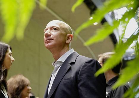 Amazonin toimitusjohtaja Jeff Bezos kuvattiin tammikuussa Seattlessa Yhdysvalloissa.