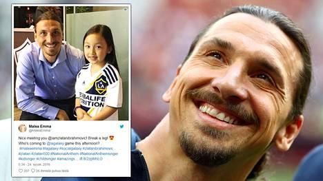 """Uskomattoman taitava 7-vuotias hurmasi Zlatanin – """"Ottelun arvokkain pelaaja"""""""