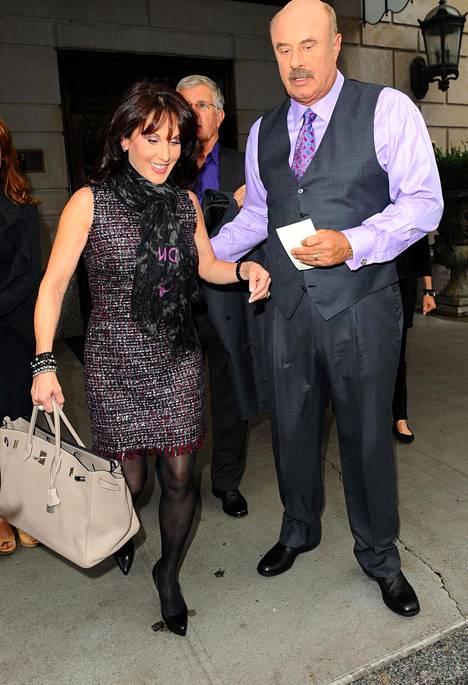 Dr. Phil eli Philip McGraw sekä hänen vaimonsa Robin.