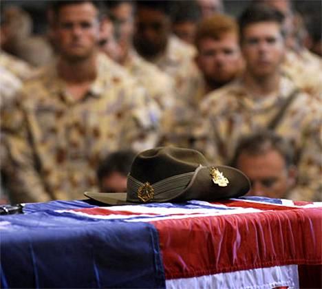 Kaksi australialaista sotilasta sai viime viikolla surmansa Afganistanissa.