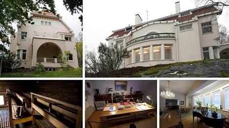 Tämä vuonna 1904 rakennettu jugendlinna tunnetaan nykyään Tamminiemen museona. Se on presidenttien koti, joka on nähnyt monet myrskyt ja tyvenet.