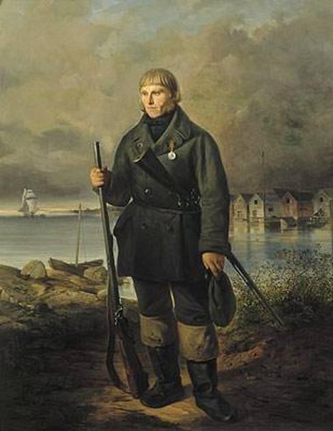 Matts Kankkonen oli hylkeenpyytäjä ja talonpoika, joka nousi Suomessa Krimin sodan sankariksi.
