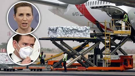 Tanskan pääministeri Mette Frederiksen ja Itävallan liittokansleri Sebastian Kurz matkustavat Israeliin neuvottelemaan.