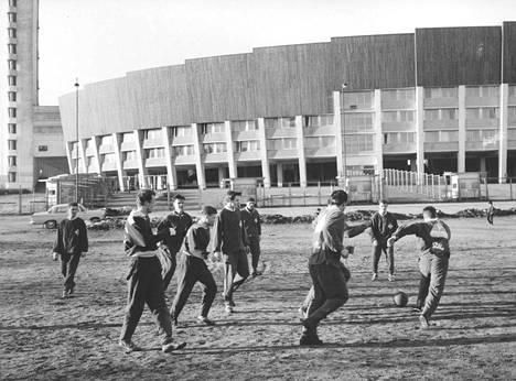 HPS:n harjoitukset vuodelta 1962.