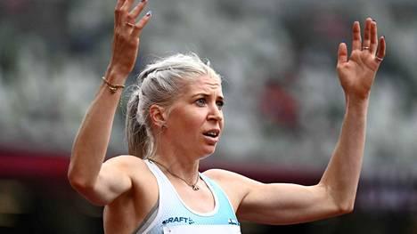 Voiko tämä olla totta! Kyllä se oli, Sara Kuivisto juoksi 800 metrin olympiavälieriin ja vieläpä uudella SE-tuloksella.