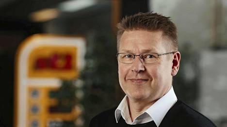 St1:n verkostojohtaja Juha Vanninen.