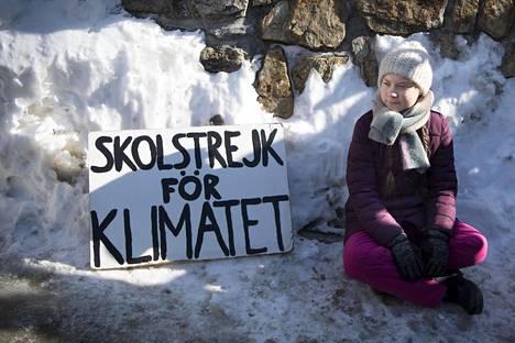 Thunberg on kansainvälisen ilmastolakko-liikkeen alkuunpanija.