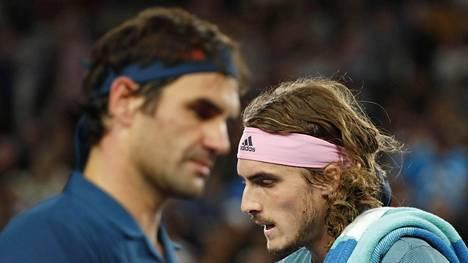 Kreikkalaisyllättäjä pudotti vanhan mestarin jatkosta – Roger Federer putosi Australian avoimista