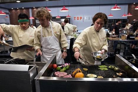 Mark Simmons (vas.) perusti Top chef -mittelön jälkeen oman huippuravintolan.