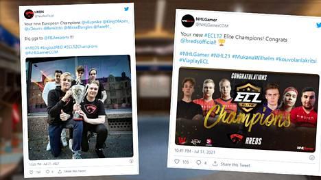 HREDS voitti ensimmäistä kertaa ECL Elite, joka on EA:n julkaiseman NHL-videopelin ykkössarja Euroopassa.