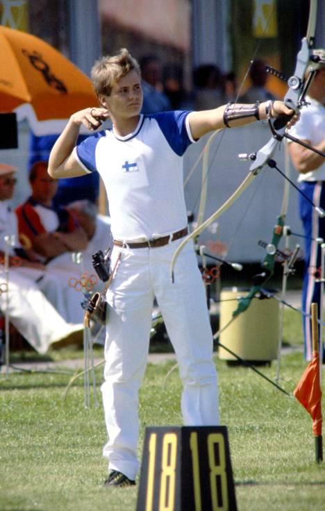 Tomi Poikolainen kuvattuna 1.8.1980. Päivän jälkeen oli selvää, että pronssi oli kahden, hopea neljän ja kulta viiden pisteen päässä.
