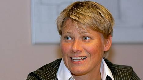 Heli Rantanen heitti olympiakultaa Atlantassa 1996.