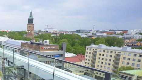 Kuvassa Turun keskustaa.
