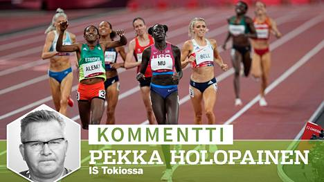 USA:n Athing Mu voitti naisten 800 metrin olympiakultaa Tokiossa. Caster Semenya ei tunnetuista syistä päässyt puolustamaan kultamitaliaan.