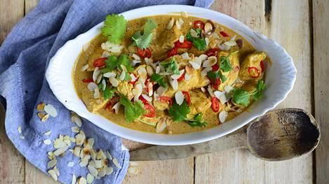 Voinen maustekastike on täyteläinen ja rasvainen – aivan kuten intialaisessa ravintolassa.