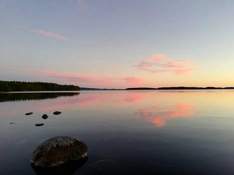 Järvimaisema Lieksasta Pieliseltä.