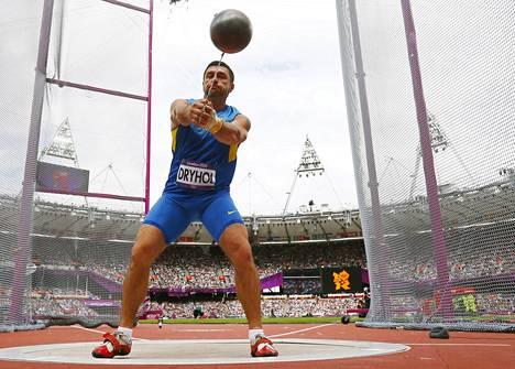 Oleksandr Dryhol kilpaili Lontoon olympialaisissa Ukrainan väreissä.