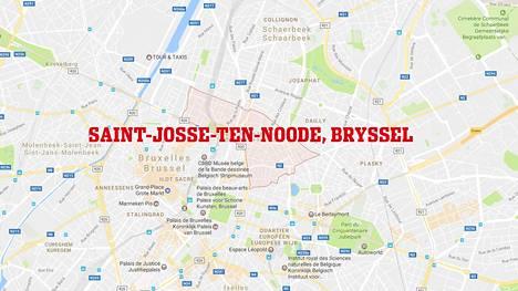 Perhe asui Saint-Josse-ten-Nooden alueella Brysselissä.