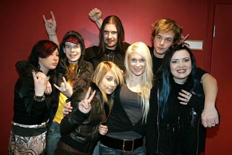 Mia Permanto, Ari Koivunen, Kristian Meurman, Anna Abreu, Kristiina Brask, Panu Larnos ja Johanna Hämäläinen pääsivat Idolsin finaalivaiheeseen vuonna 2007.