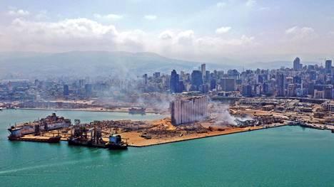 Vuosi sitten Libanonin pääkaupungin satamaan huolimattomasti varastoidun, lannoitteissa käytetyn ammoniumnitraatin räjähdyksessä kuoli yli 200 ihmistä ja tuhansia loukkaantui.