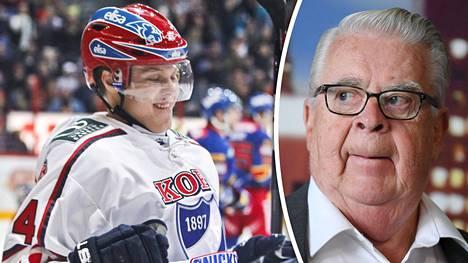 Mikael Granlund ei taipunut Kalervo Kummolan tahtoon.