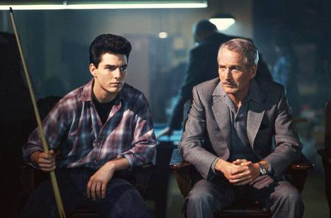 Paul Newman (oik.) manageroi Tom Cruisea.