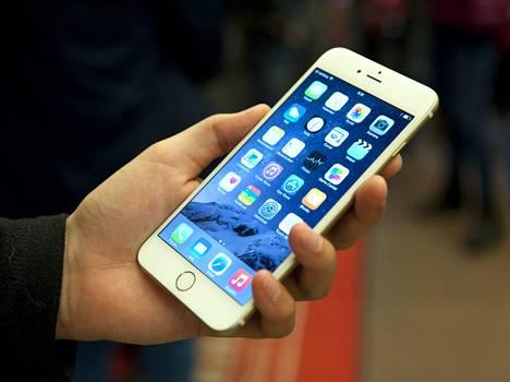 IPhone 6 käyttää Gorilla-lasia.