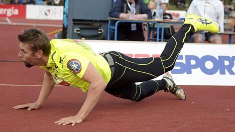 Antti Ruuskanen ei yltänyt aivan voittoon asti.