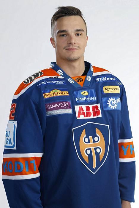 Otso Rantakari pelasi pitkänä Tapparan riveissä, mutta kiekkoilee tällä hetkellä Sveitsissä.