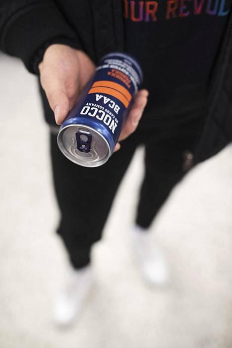 Energiajuoma Noccoa myydään lukuisissa eri mauissa.