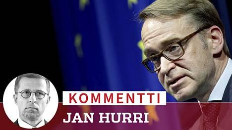 Saksan keskuspankin pääjohtaja Jens Weidmann on ilmoittanut eroavansa vuoden lopussa.