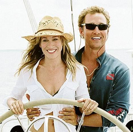 Muuttohaluton poikamies (2006) oli yksi Matthew McConaugheyn lukuisista komistusrooleista romanttisissa komedioissa. Rinnalla Sarah Jessica Parker.