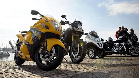 Motoristit ovat nyreissään hallituksen moottoripyöräverosta.