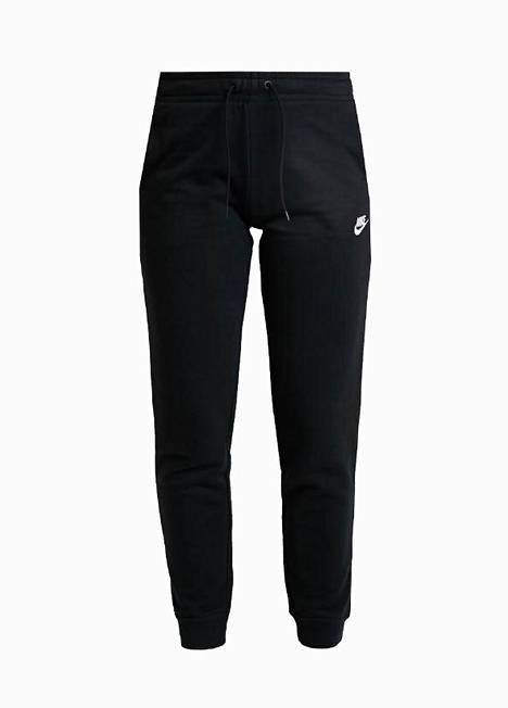 Zalando listasi MyStylelle naisten kolme suosittua tuotetta. Yhdet niistä ovat nämä Niken verryttelyhousut, 44,95 €.