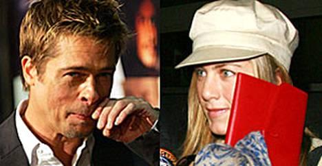 Brad Pitt ja Jennifer Aniston riitelevät taas.