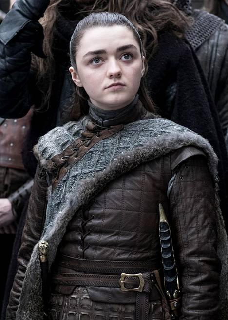 Arya Stark kaudella kahdeksan.