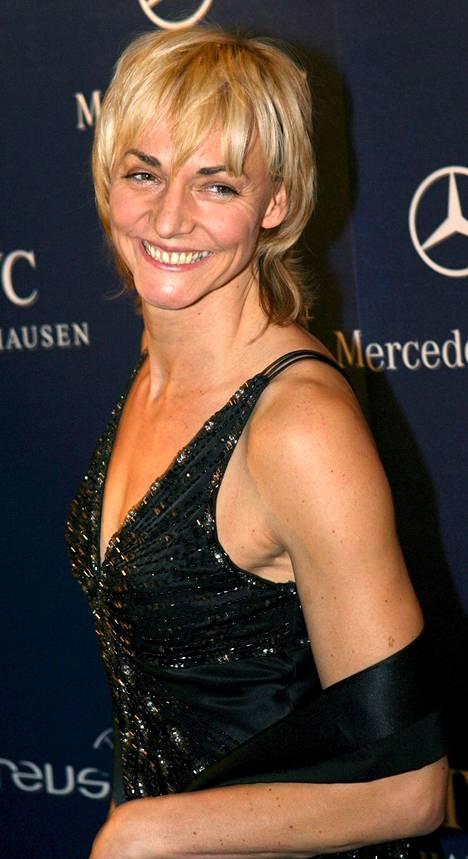 Heike Drechsler on uransa jälkeen työskennellyt terveysalalla.