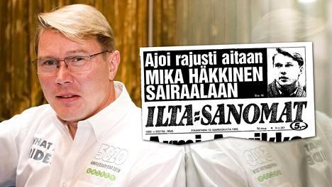 Onnettomuus vaikutti Mika Häkkiseen.